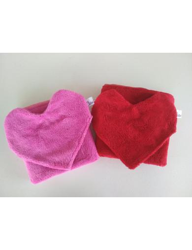 couverture imperméable gant coeur les couseries de mélo