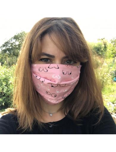 masque lavable seins les couseries de melo clitowitch